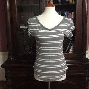 Hollister striped t-shirt size XS